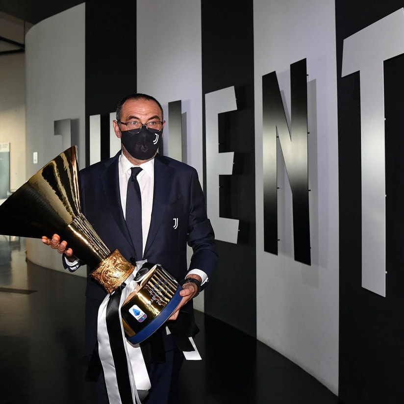 Serie A Trophy At Juventus Museum