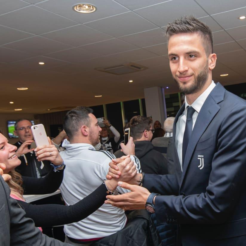 Official Fan Club, el tercer tiempo tras el Juve-Brescia