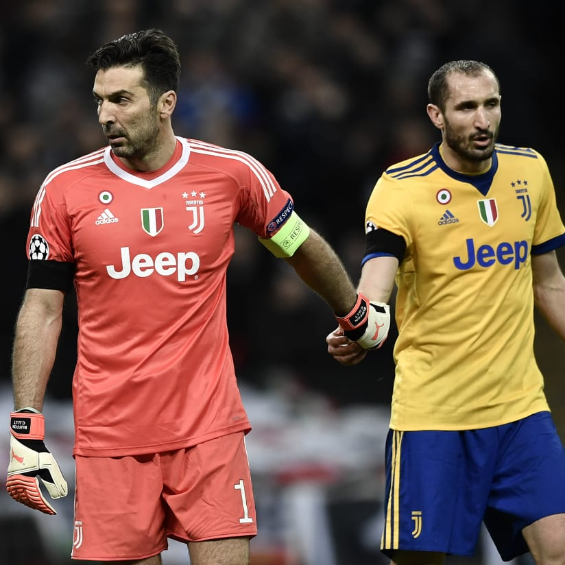 BUFFON & CHIELLINI TOGETHER FOR ANOTHER YEAR