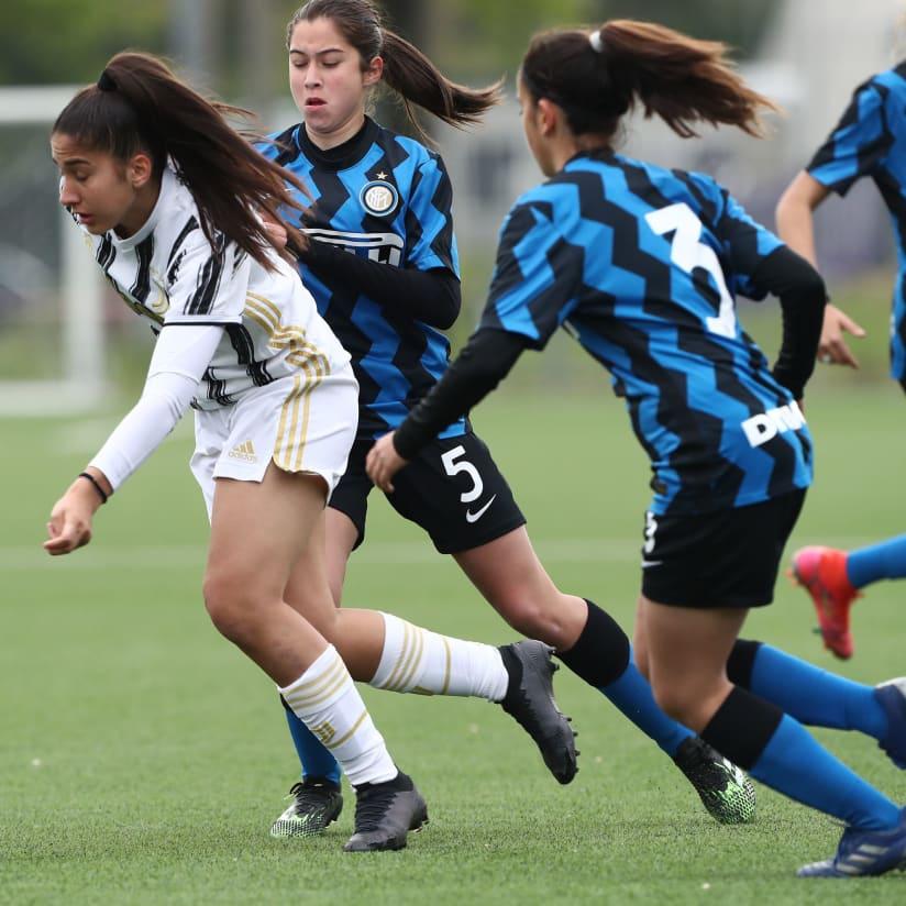 Under 19 Femminile, 3-3 nel big match con l'Inter
