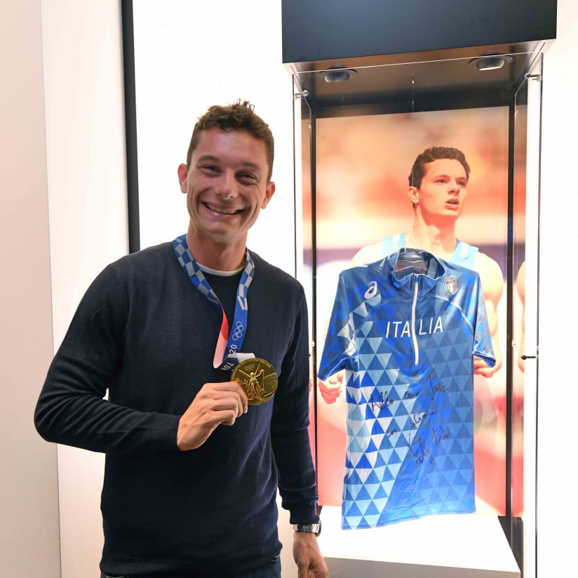 Juventus Museum hosts Olympic Champion
