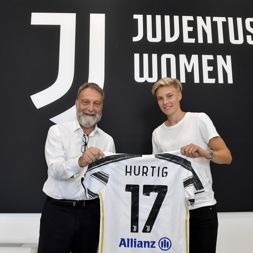 The first photos of Hurtig in Bianconero