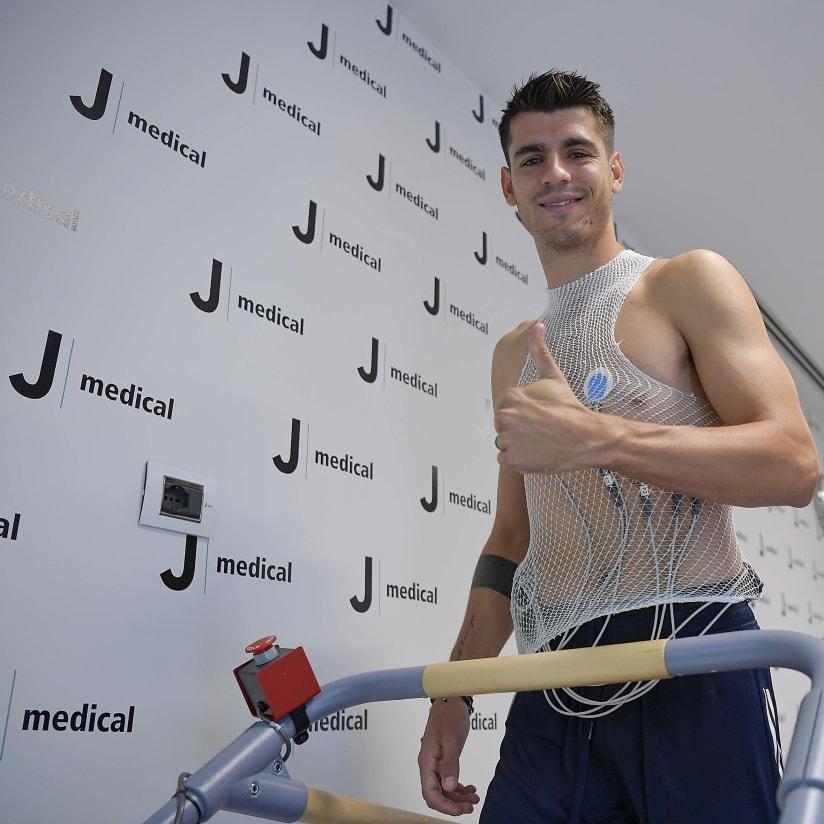 Visite mediche per Morata
