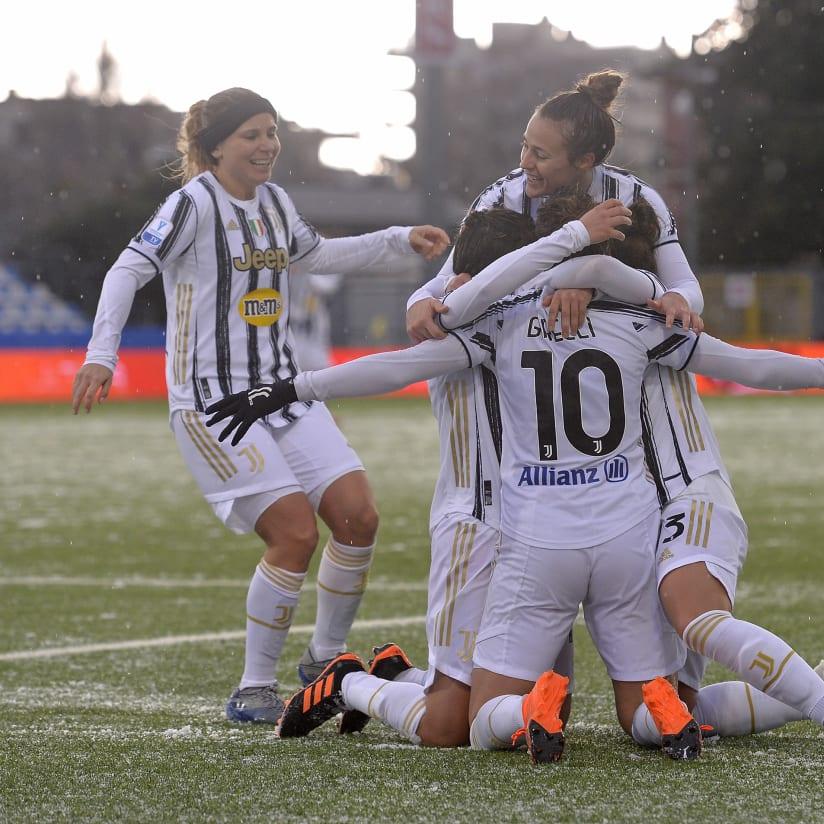 Gallery | Juventus Women, il 2021 comincia con una vittoria!