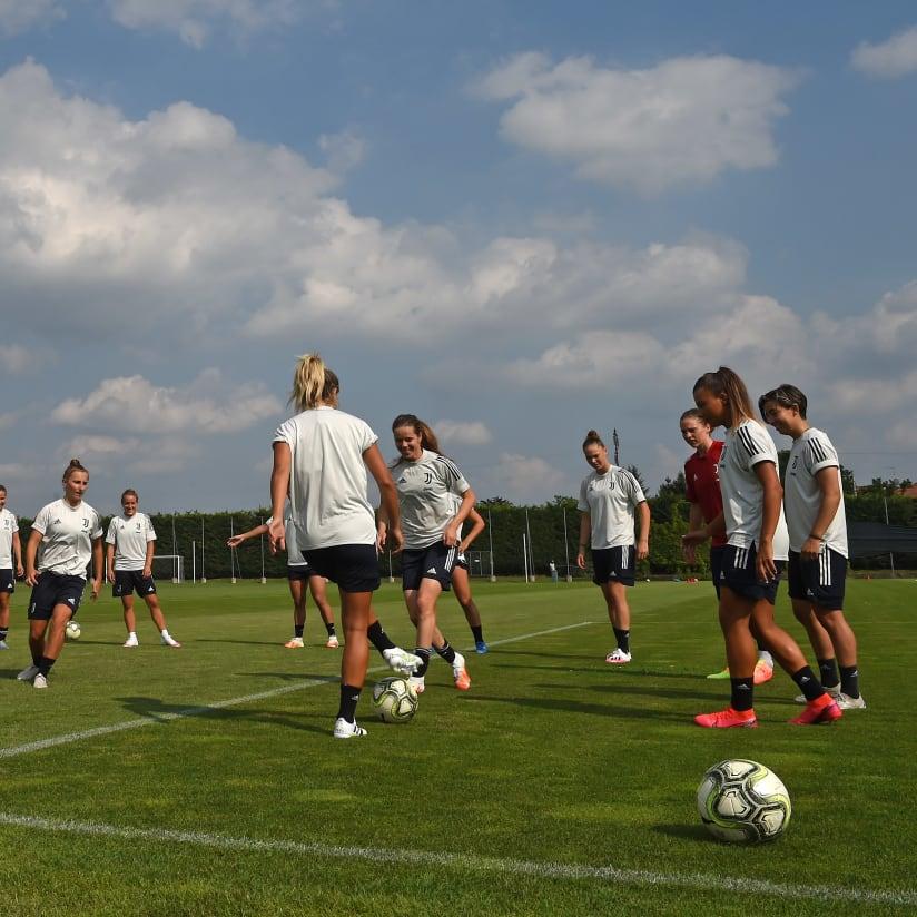 Women, il primo allenamento di squadra della nuova stagione