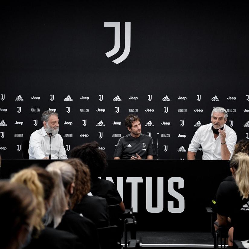 Gallery | Arrivabene, Braghin & Montemurro welcome Juventus Women