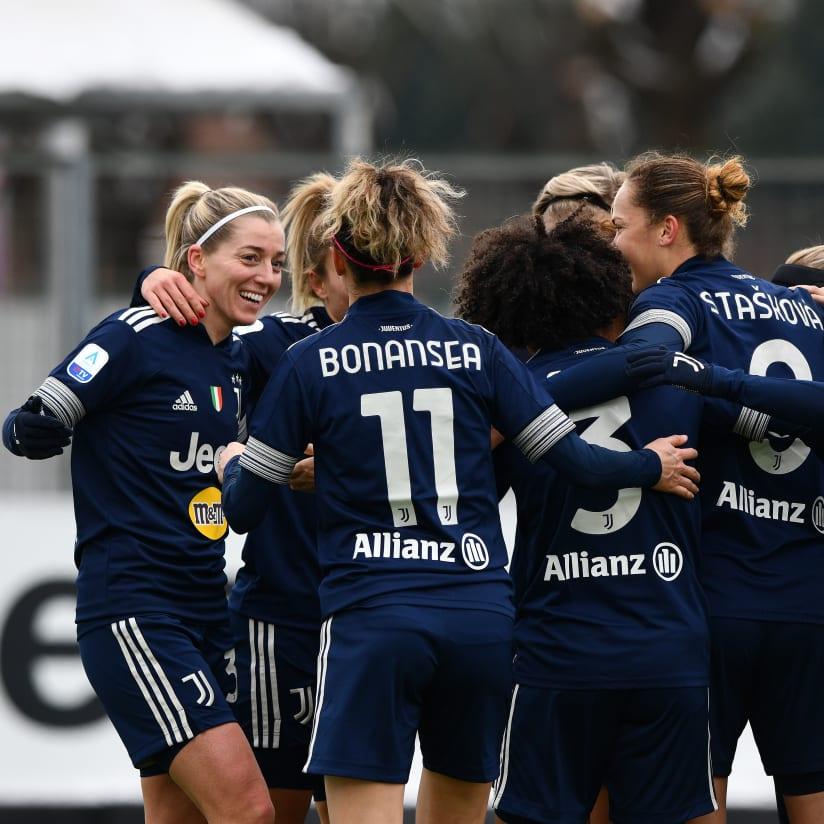 سيدات يوفنتوس بطلات إيطاليا F4BULOUS!