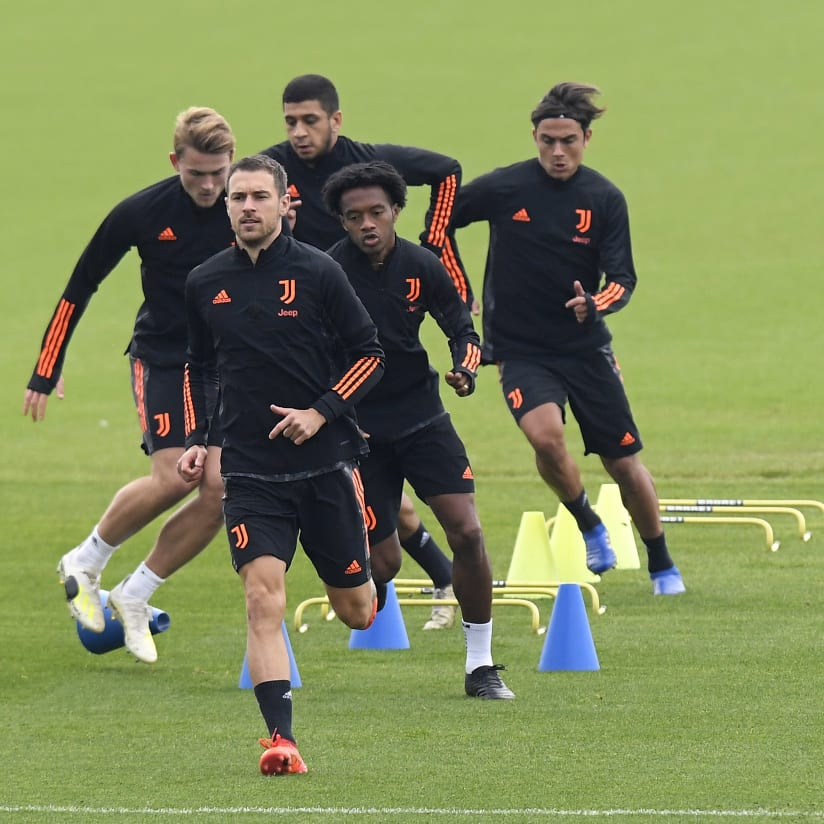 Training Towards Dynamo - Juve