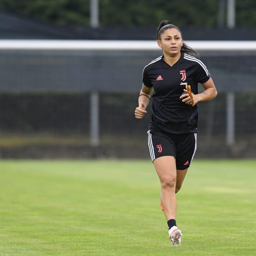 Juventus Women sigue con su preparación.