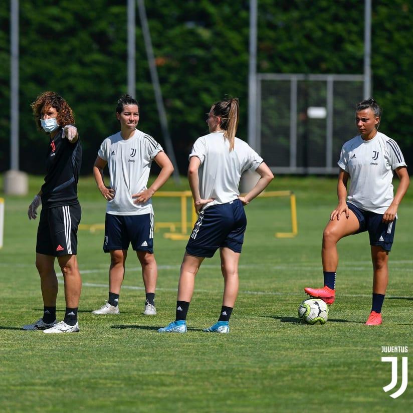 Continua il lavoro per le Juventus Women