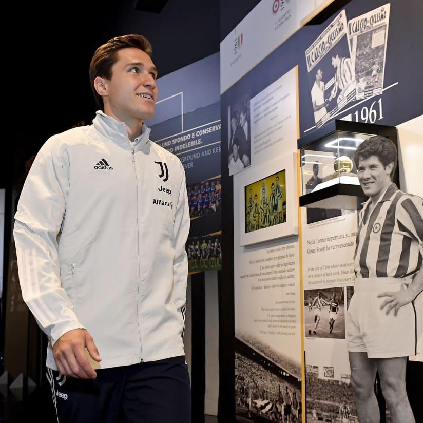 Chiesa jelajahi Allianz Stadium & Juventus Museum