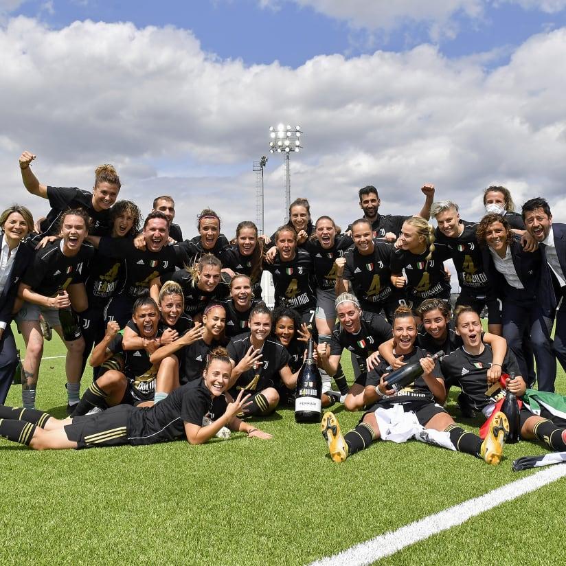 2020/21 | Juventus Women's season in pictures