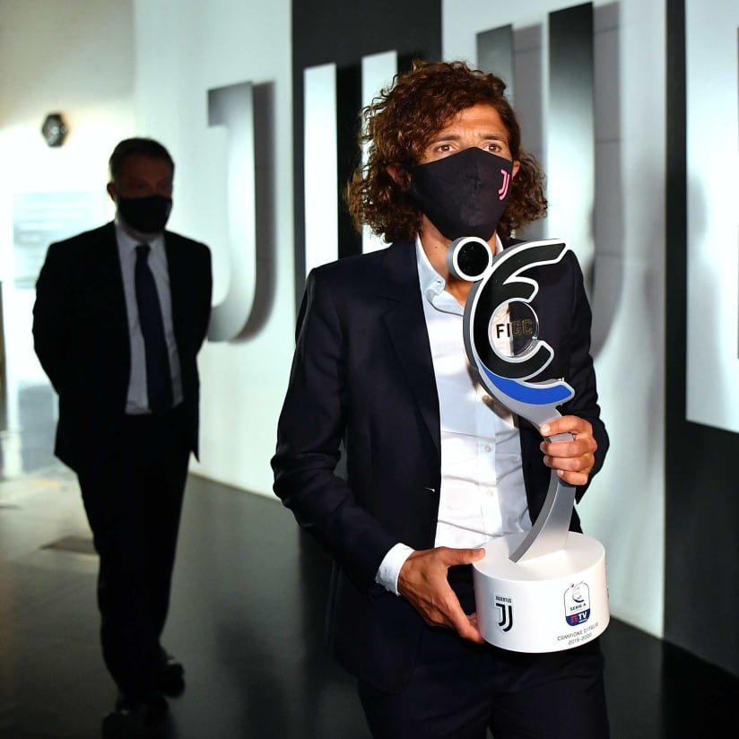 Serie A Femminile Trophy At Juventus Museum