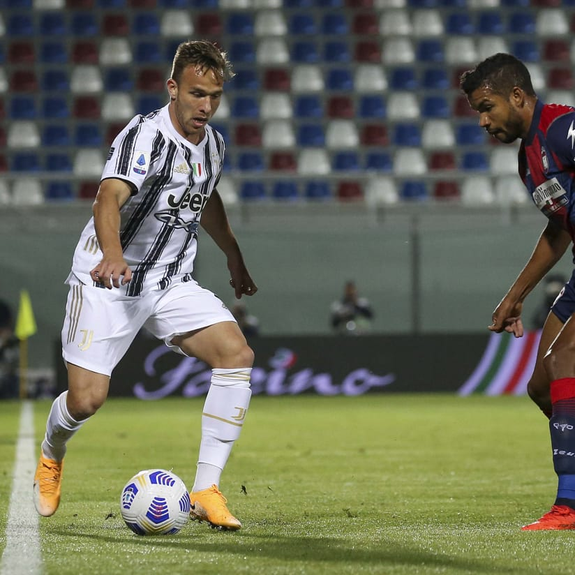 Le immagini di Crotone - Juventus
