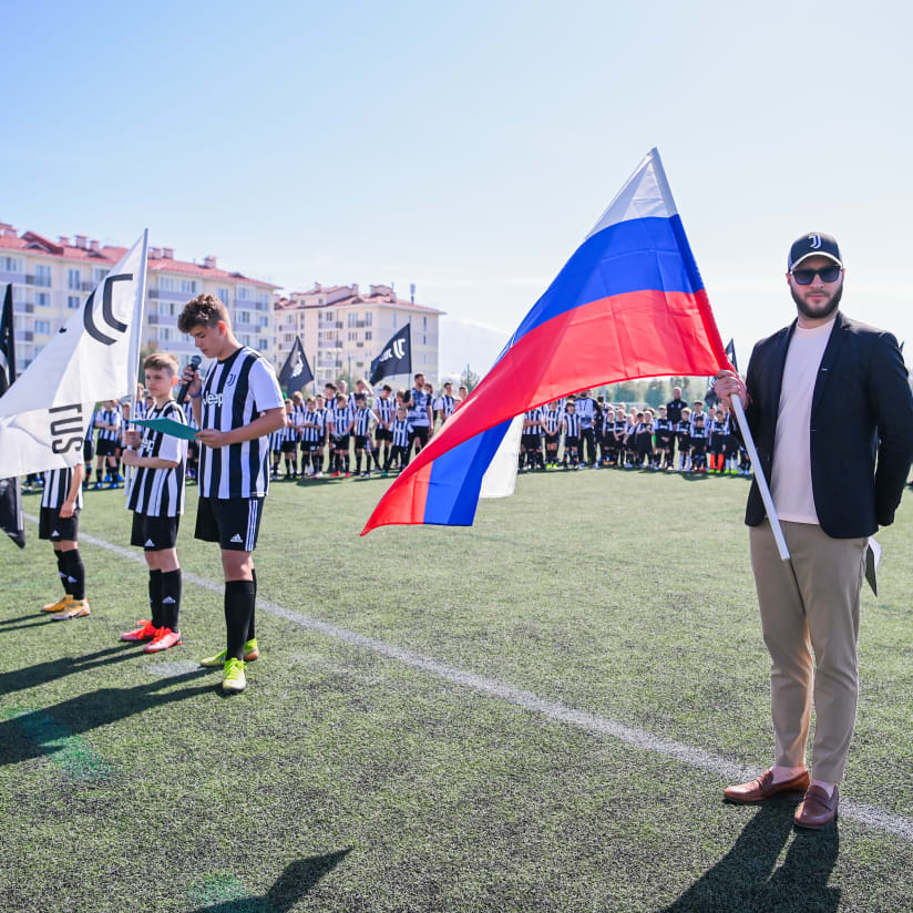 Here in Sochi: the Russian Juventus Academy tournament!