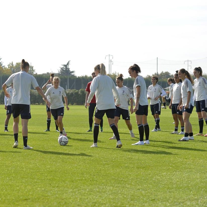 Women al lavoro verso Juve-Fiorentina