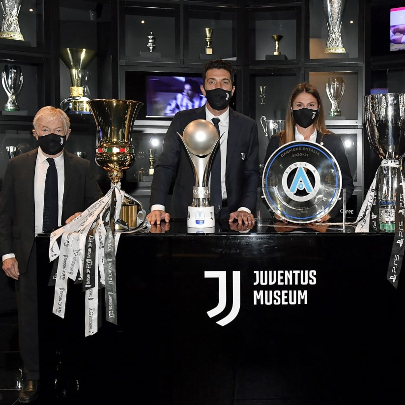 The Trophy Temple continues to grow at Juventus Museum