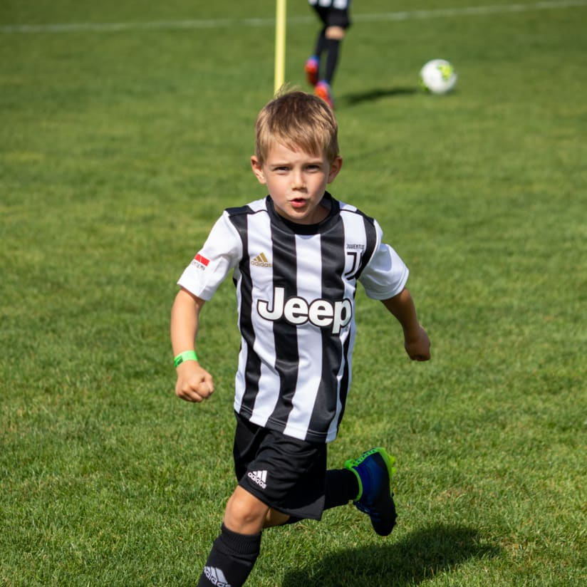 The restart of the Juventus Academy project