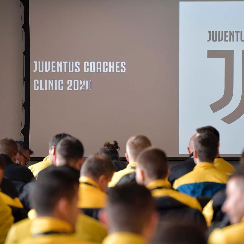 Coaches Clinic, en Turín más de 50 entrenadores Juventus Academy
