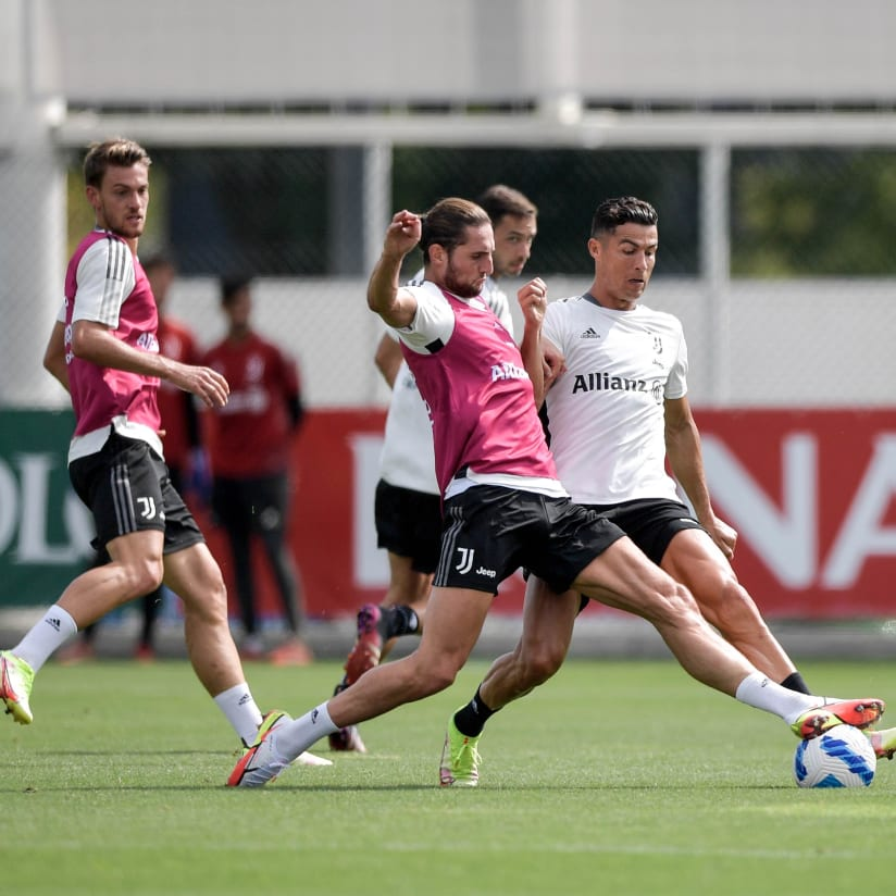 Gallery | Wednesday workout at Continassa