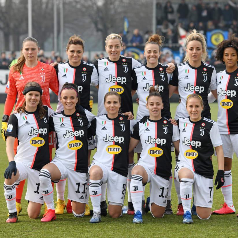 Women, las mejores imágenes del Juve-Inter