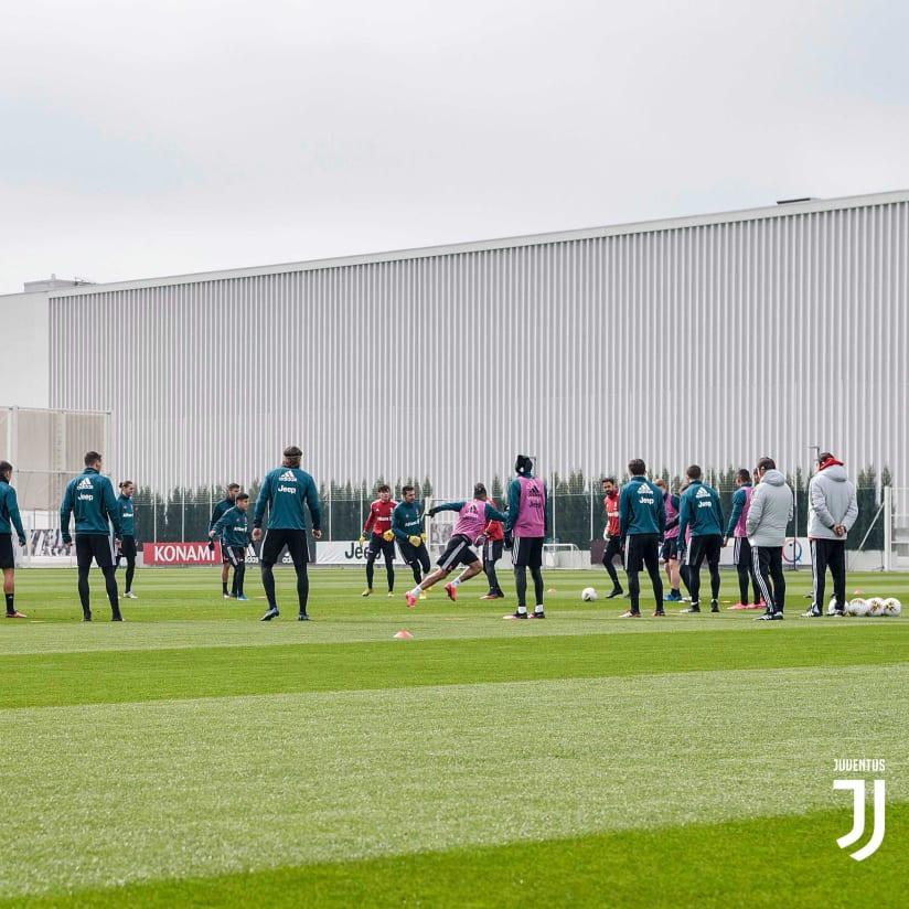 Preparando el Derby d'Italia