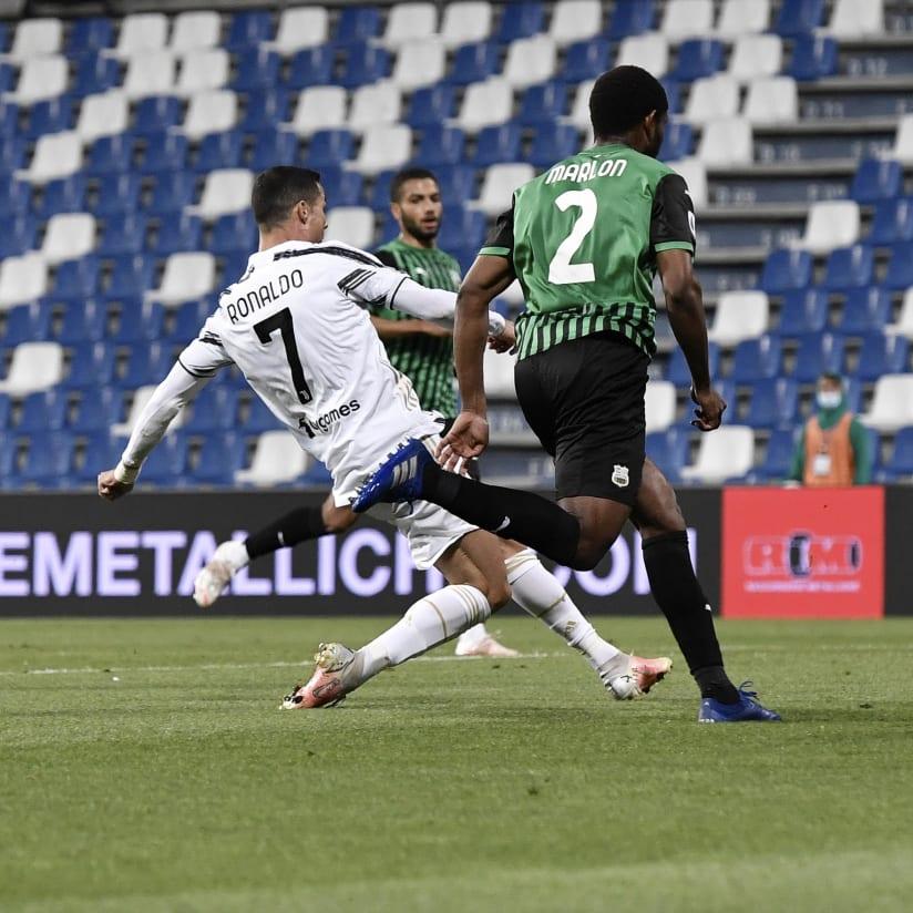 Sassuolo - Juventus: fotos