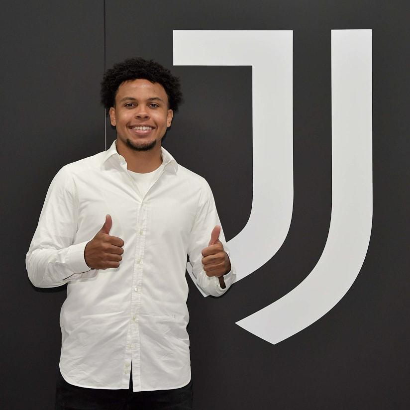 O primeiro dia de McKennie como jogador da Juventus