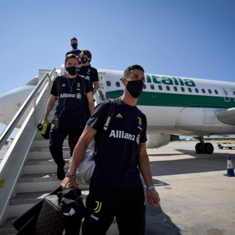 Bianconeri in Barca!