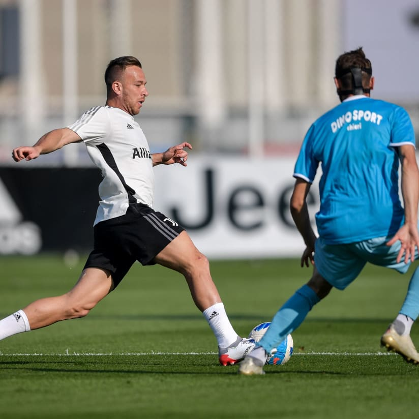 Gallery | On the pitch with Chieri