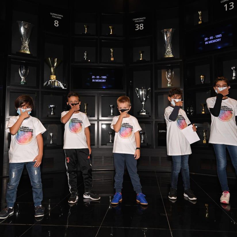 Treasure hunt at the Juventus Museum for Junior Members!