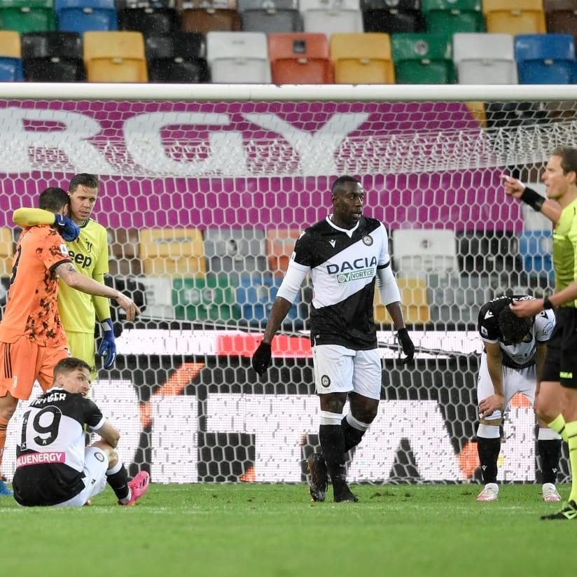 Udinese - Juventus: fotos