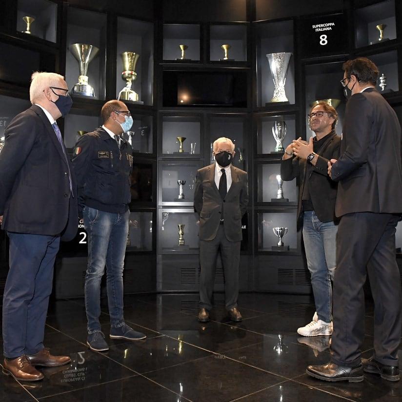 ENS visit Juventus Museum