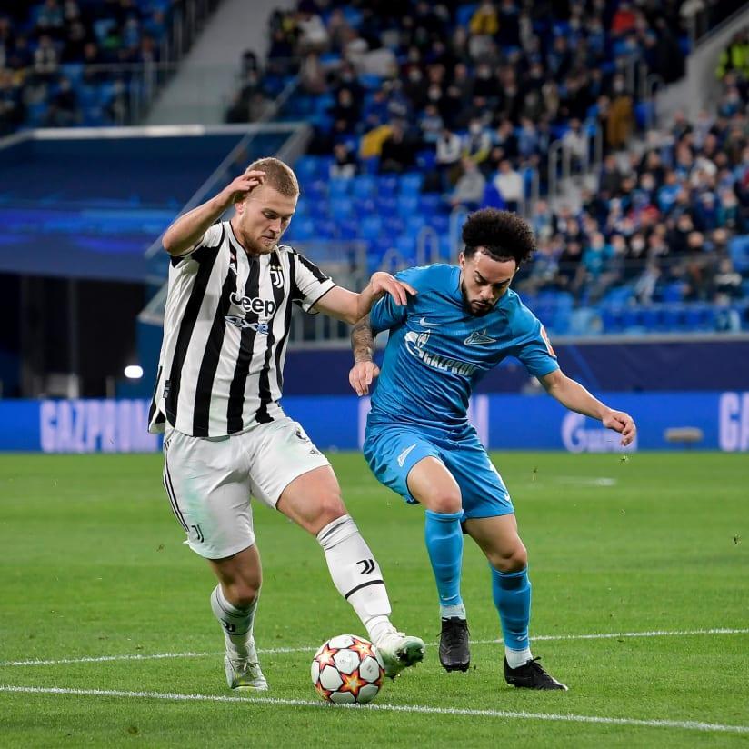 Zenit - Juventus: fotos