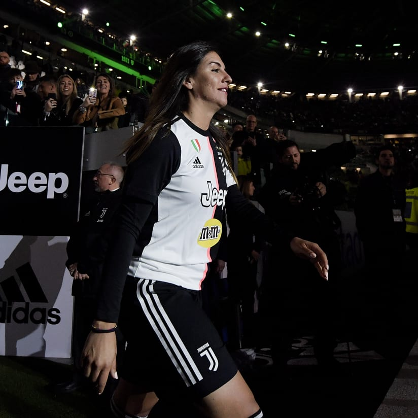 Franco bids farewell to Juventus Women
