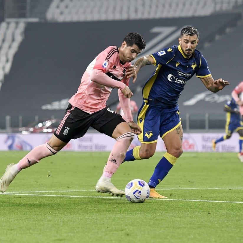 Le immagini di Juventus - Hellas Verona