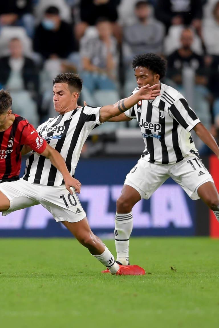 Dados da partida | Juve x Milan