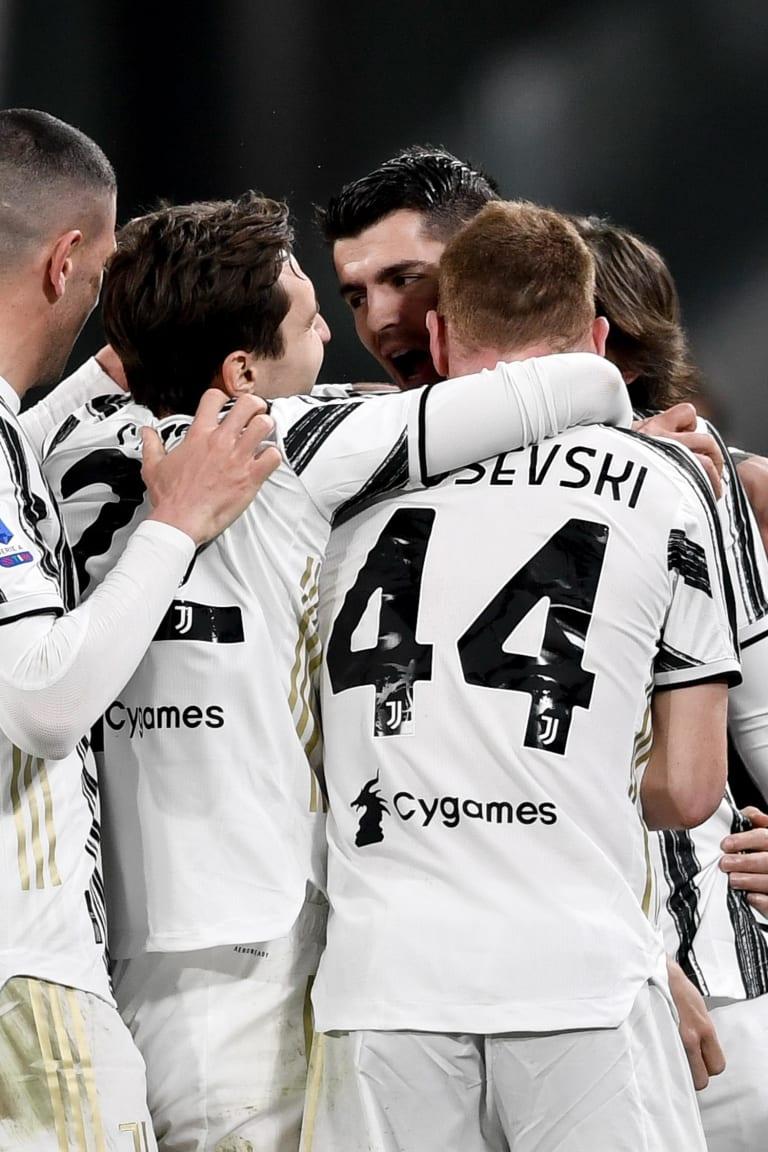 Berna e Morata cambiano la Juve. 3-0 allo Spezia