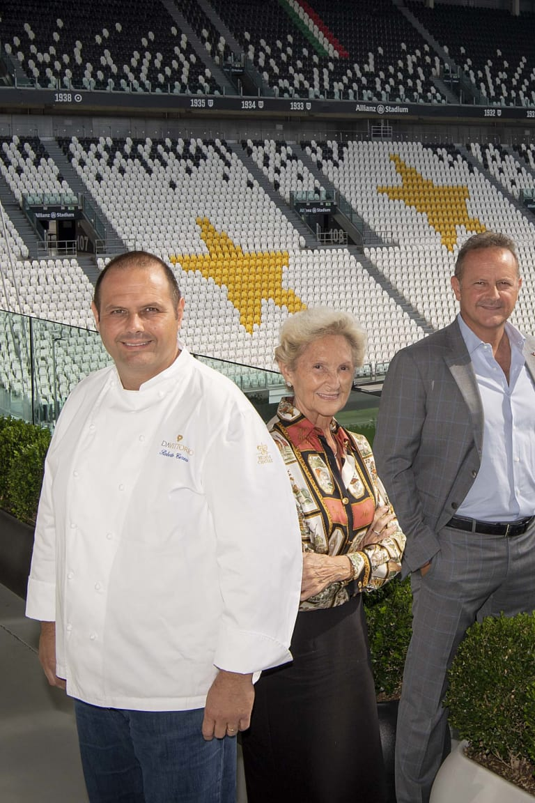 Three Stars In The Kitchen Even At The Allianz Stadium!