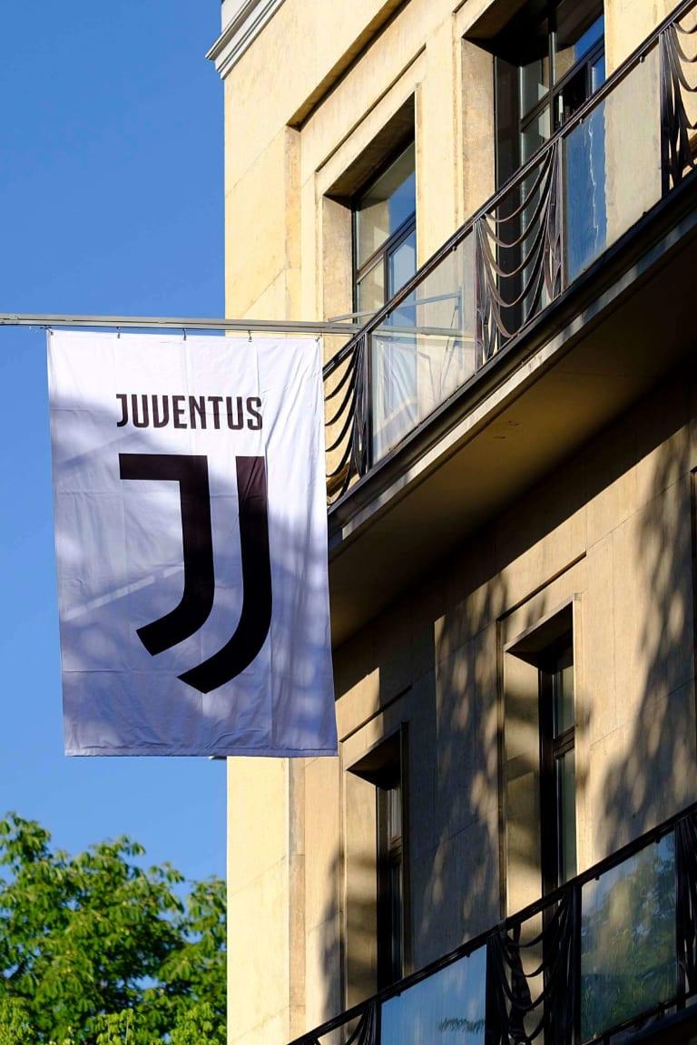 Benvenuto al nuovo logo della Juventus, benvenuti nel futuro!