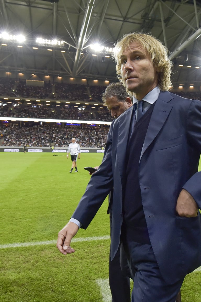 The Champions League draw according to Pavel Nedved