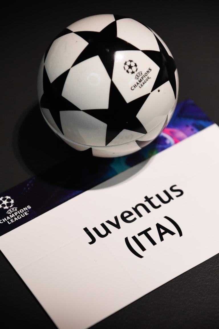 Juventus announce Champions League squad list