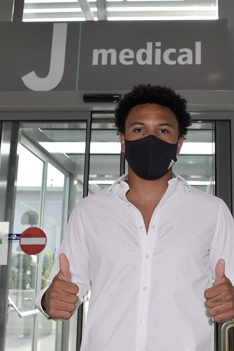 Exames médicos da Juventus para Weston McKennie