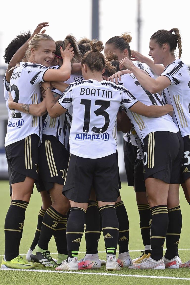 سيدات يوفنتوس يفزن بلقب الدوري #F4BULOUS!