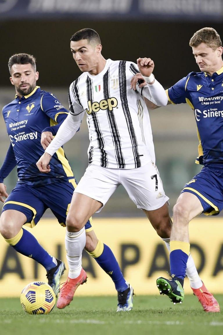 Stat Of The Game   Verona - Juventus