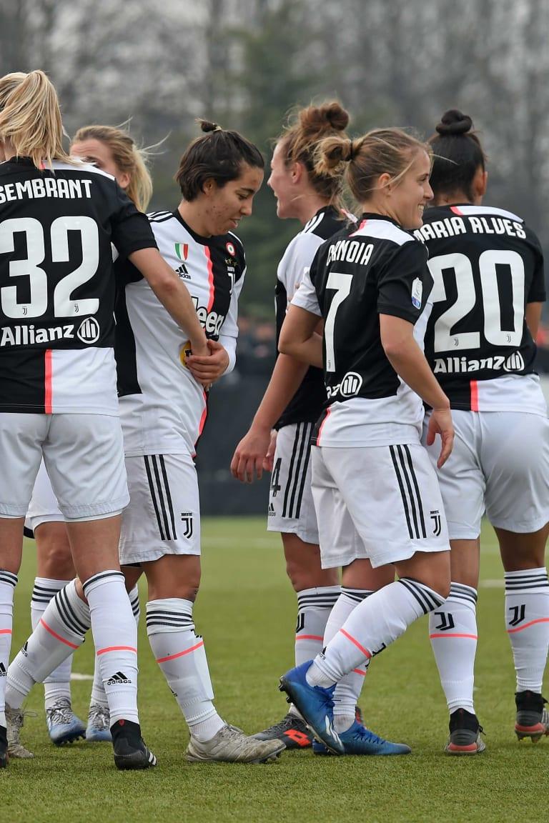 I numeri delle Juventus Women in Serie A