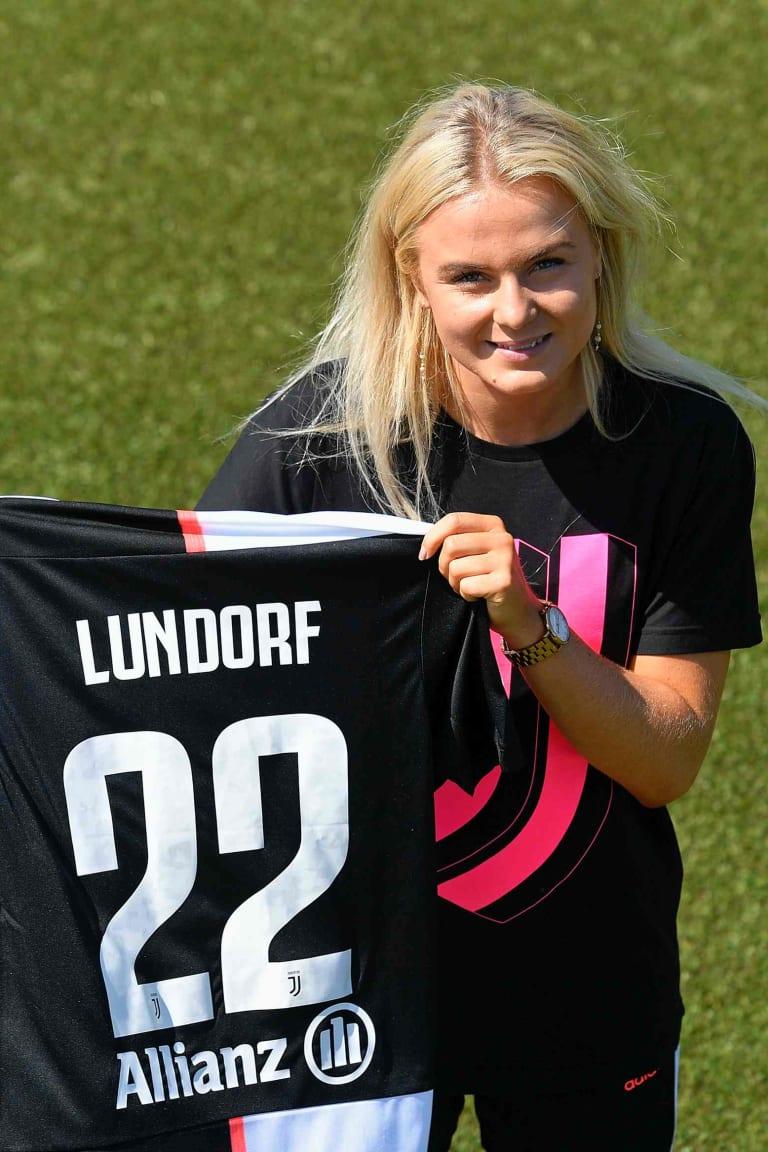 Matilde Lundorf è bianconera!