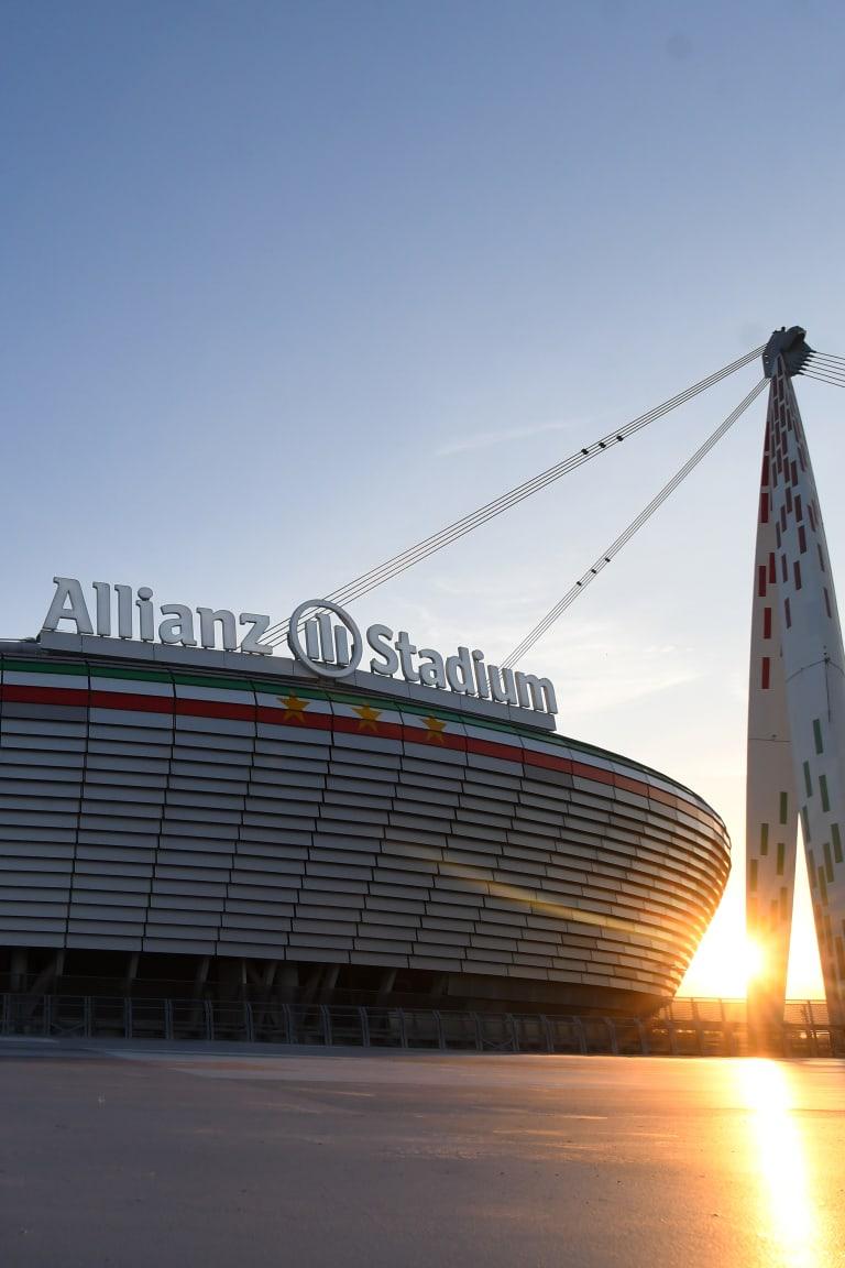 Allianz Stadium esterno