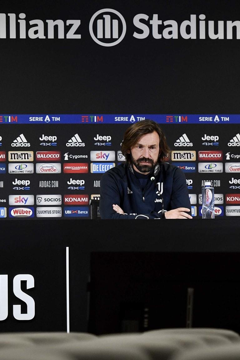 Komentar Pirlo pralaga Juventus – Sassuolo