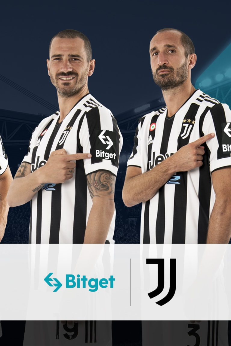 Juventus apresenta Bitget como primeiro parceiro de manga!